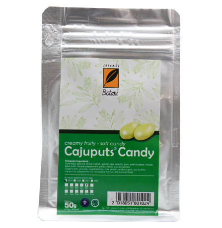 CAJUPUT CANDY CREAMY FRUITY 50g